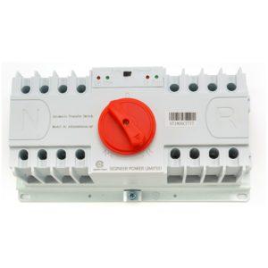 Automatic Transfer Switch Three Phase 63Amp 120 208V 240Vac 4P 23KW
